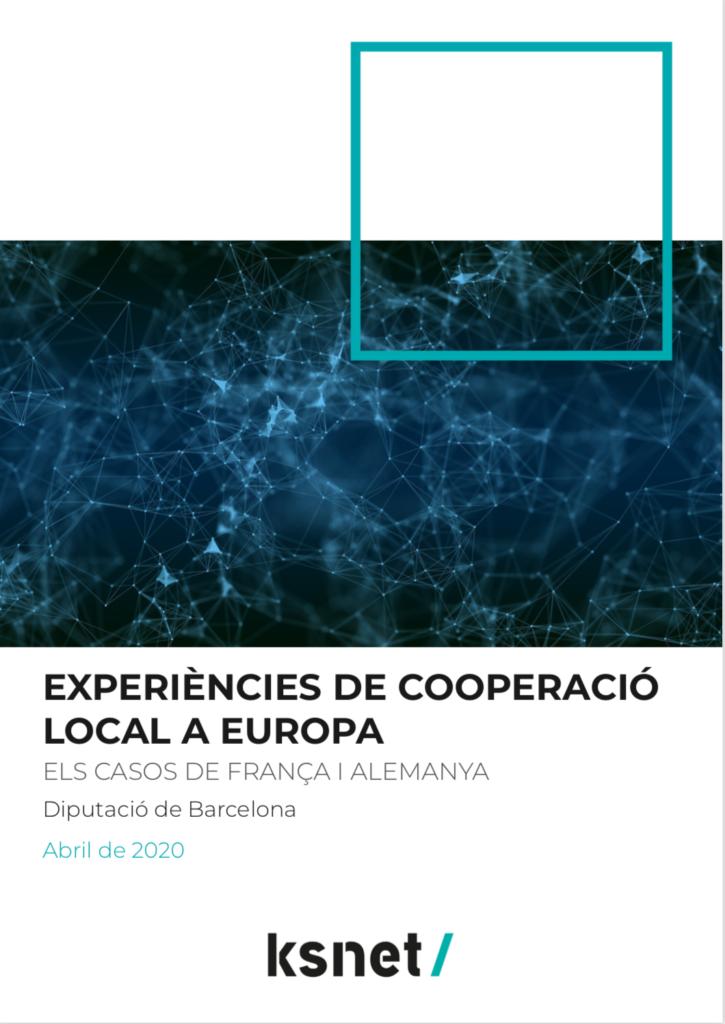 Experiencias de cooperación local en Europa
