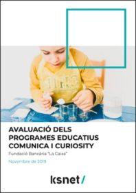 Evaluación de los programas educativos Comunica y Curiosity