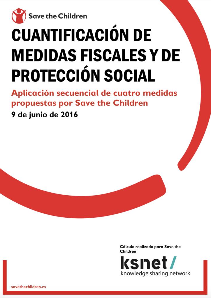 Cuantificación de medidas fiscales y de protección social