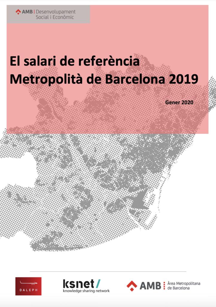 El salario de referencia metropolitano de Barcelona 2019