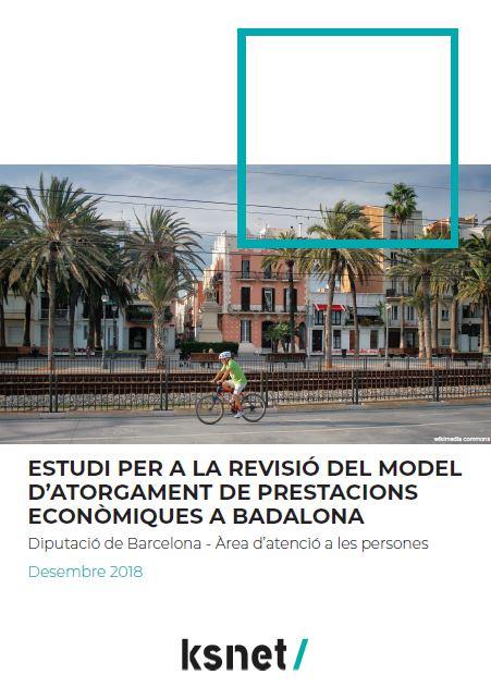Estudio para la revisión del modelo de otorgamiento de prestaciones económicas en Badalona