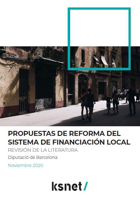 Propuestas de reforma del sistema de financiación local