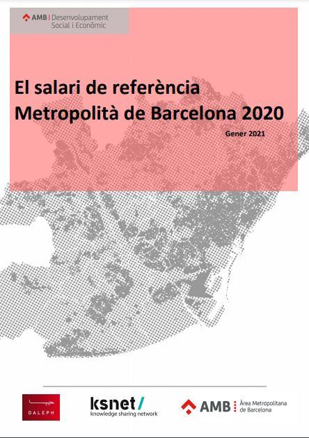 El salario de referencia metropolitano de Barcelona 2020